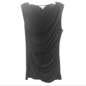 CAbi black stretch sleeveless  top